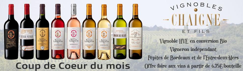 Vin Chaigne & Fils - Foire aux vins Bordeaux
