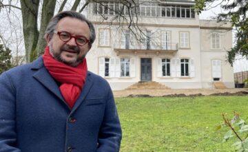 Fabrice Sommier, MOF sommelier, ouvrira son école à Mâcon