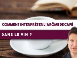 Comment interpréter l'arôme de café dans votre verre de vin ? (Leçon n°134)