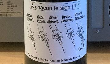 Quand le manque de vaccin covid inspire une étiquette de vin
